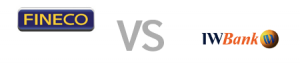 fineco vs iwbank fineco vs iwbank 300x66 - Confronto condizioni e servizi conti correnti Fineco e IWBank