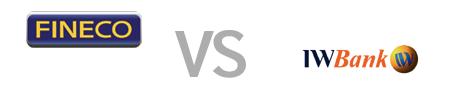fineco vs iwbank - Confronto condizioni e servizi conti correnti Fineco e IWBank
