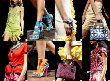 Sandali collezione Christian Dior estate 2011