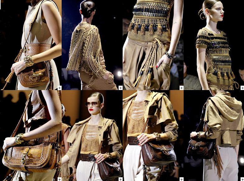 Dettagli collezione PE 2011 Gucci