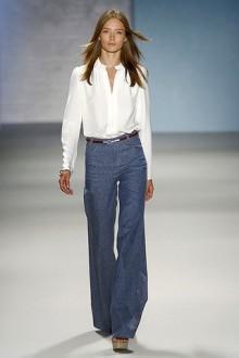 Jeans di Derek Lam primavera estate 2011