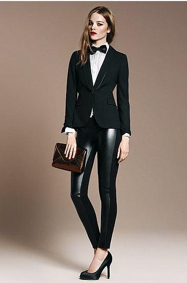 Look dallo stile maschile e seducente Zara