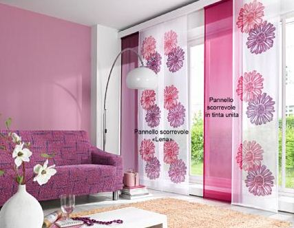 Tende a pannello bonprix confortevole soggiorno nella casa - Bonprix casa tende ...