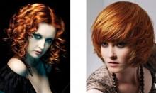 Colore capelli rosso 2011