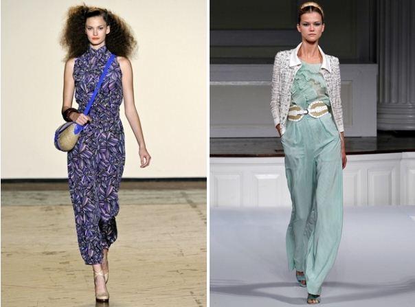 Tendenza alla moda 10 primavera estate 2011 tute