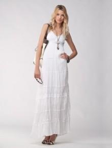 LookBook maggio 2011 Motivi abito lungo bianco