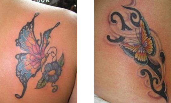 Tatuaggi farfalle the house of blog for Immagini tatuaggi spalla
