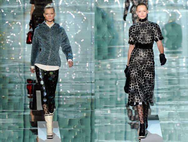 Dalle passerelle tendenza moda inverno 2011 2012 fantasia a poisJPG