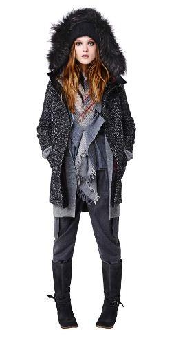 Cappotto con cappuccio Pennyblack collezione inverno 2011 2012