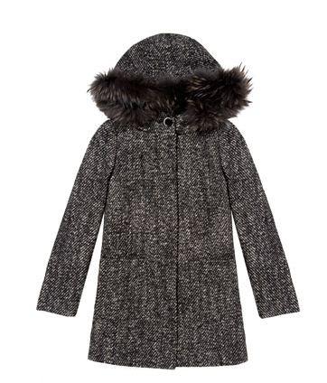 Cappotto con cappuccio Pennyblack inverno 2011 2012