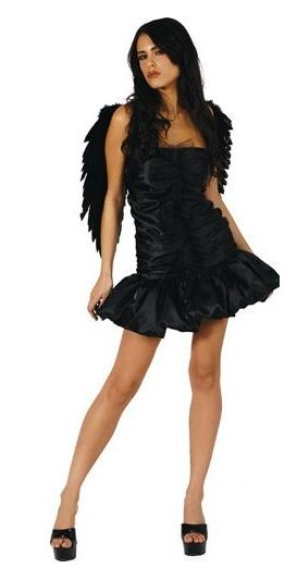 Costume Dark Angel Halloween 2011