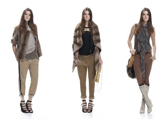 Diversi outfit collezione Pinko inverno 2011 2012