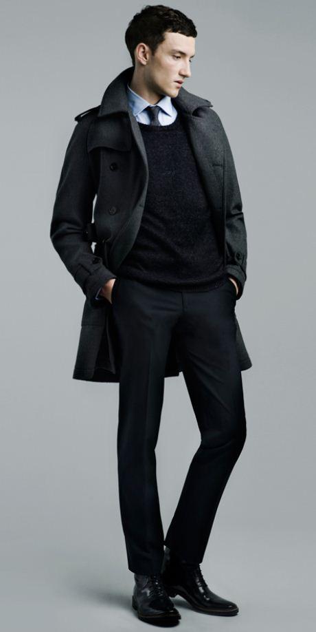 Giacca sopra vestito elegante uomo