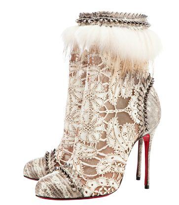 Collezione scarpe e stivali Christian Loubotin inverno 2012