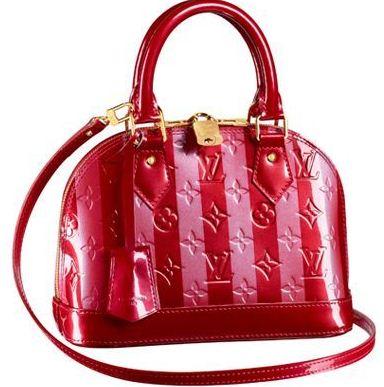 Borsa Louis Vuitton Alma Vernis Rayures primavera 2012
