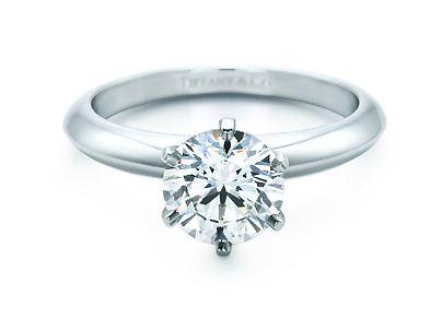 Anello di fidanzamento Tiffany mod Setting