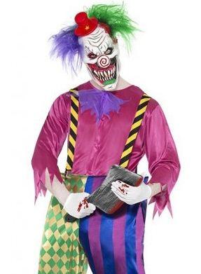 Costume da carnevale 2012 uomo Clown killer