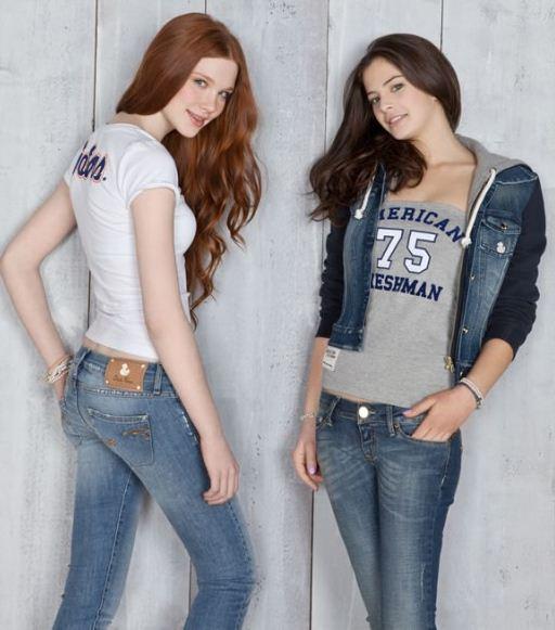Jeans felpa e t shirt Duck Farm primavera estate 2012