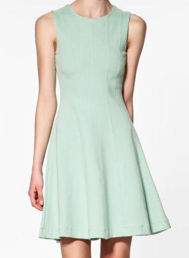 Vestito Zara con gonna svasata 2012 Euro 39 95
