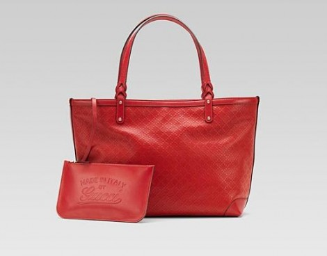 72a31c2eb4 Borsa Gucci Craft in pelle rossa per San Valentino 2012 Borsa Gucci Craft  in pelle rossa