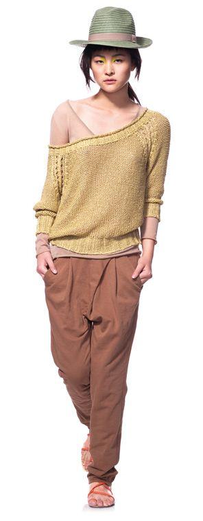 Doppia maglia e pantaloni Benetton