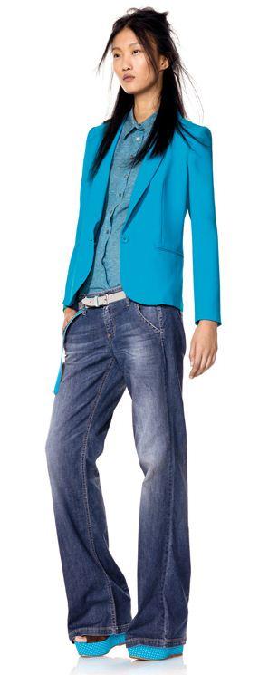 outfit primaverile Benetton