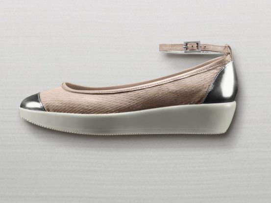 Nuove ballerine con piccola zeppa Hogan primavera estate 2012 - Sandali e scarpe Hogan primavera estate 2012 collezione donna