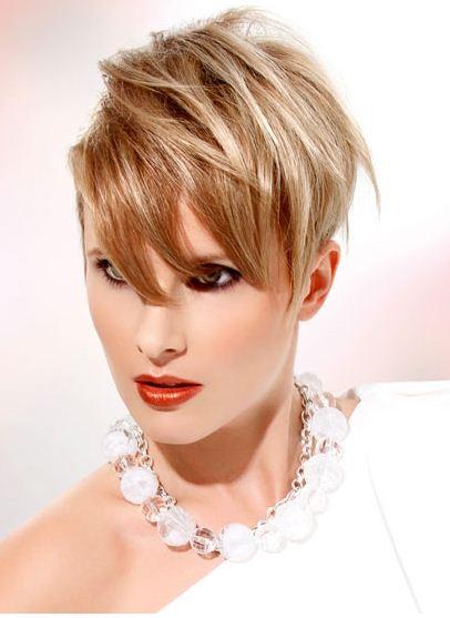 Taglio capelli corti da un lato 2012 - The house of blog