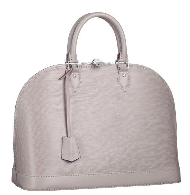 Borsa a mano Louis Vuitton nuova collezione 2012 color Grigio