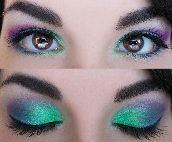 Ben noto Idee trucco occhi: make up occhi verdi, azzurri e marroni - The  GH09