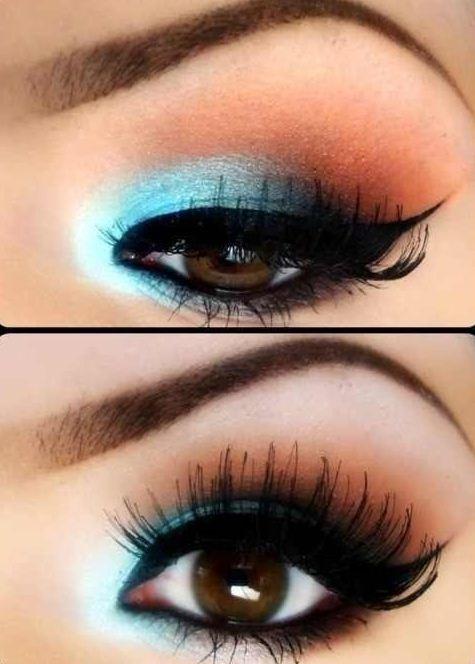 Estremamente Make up colorato per occhi marroni - The house of blog WZ35