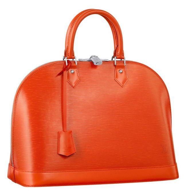Nuova borsa Louis Vuitton Alma in pelle Epi collezione 2012 prezzo
