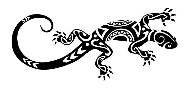 Disegno per tatuaggio maori geco the house of blog for Disegno geco