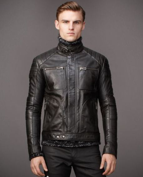 Belstaff Giacche Pelle Uomo