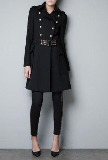 vendita più calda meglio come comprare Trench con cintura borchiata Zara Euro 129 | The house of blog