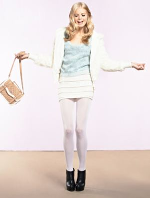 Outfit con gonna Tally Weijl inverno 2012 2013