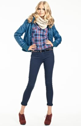 Outfit con pantaloni Tally Weijl inverno 2012 2013