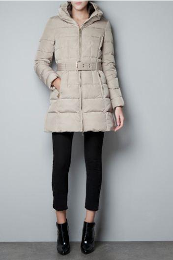 new arrival 05db8 20d56 Piumini e giubbotti Zara inverno 2013: catalogo prezzi | The ...