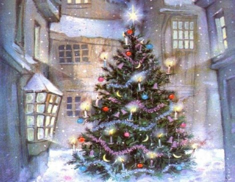 Albero Di Natale Con Decorazioni Blu : Colori albero di natale 2012 the house of blog