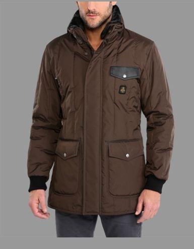 Giubbotto Refrigiwear New Fir Tree inverno 2013 euro 399 - Giubbotti e piumini Refrigiwear inverno 2013 uomo: catalogo prezzi