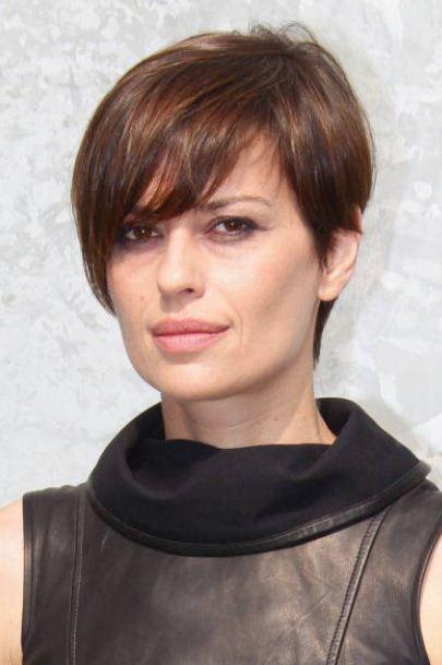 Taglio Di Capelli Corti Asimmetrico Alla Claudia Pandolfi 2012 The