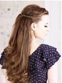Acconciatura facile fai da te capelli medi e lunghi Acconciatura facile fai da te capelli medi e lunghi  - Acconciatura facile fai da te capelli medi e lunghi