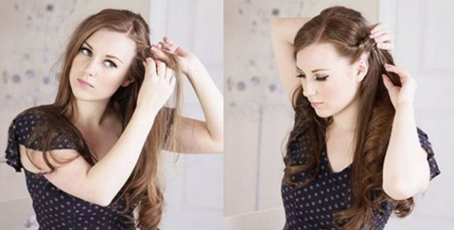 Acconciature capelli lunghi facile da fare
