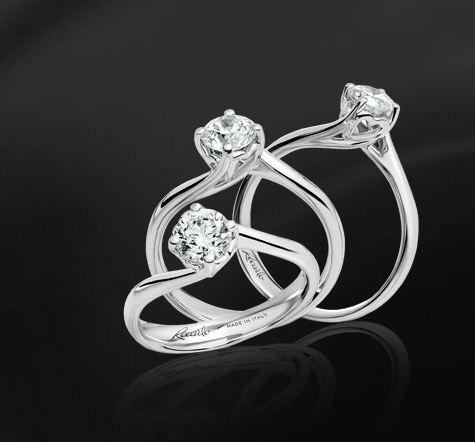 Solitari con diamanti Re Carlo prezzi anelli di fidanzamento