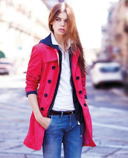 Trench giacche e giubbini Peuterey donna primavera 2013