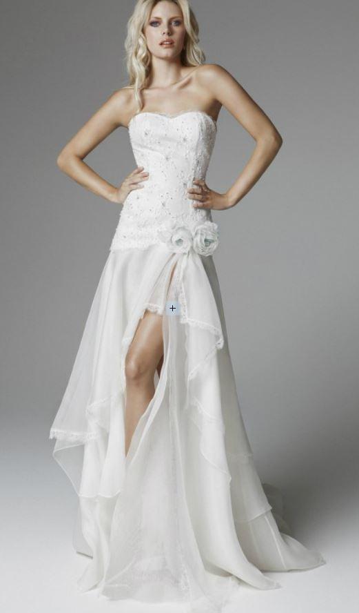 Conosciuto Cool italia dress: Abiti da sposa corti davanti e lunghi dietro 2014 YN33