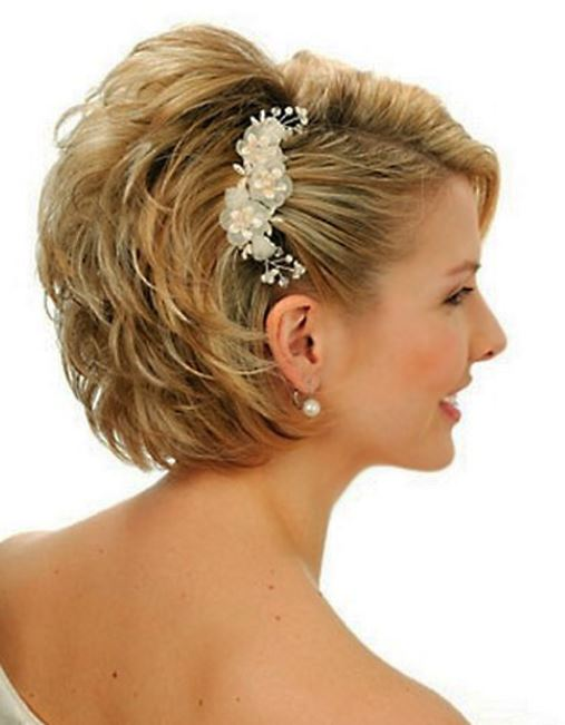 Estremamente Acconciatura sposa con capelli corti - The house of blog BA93