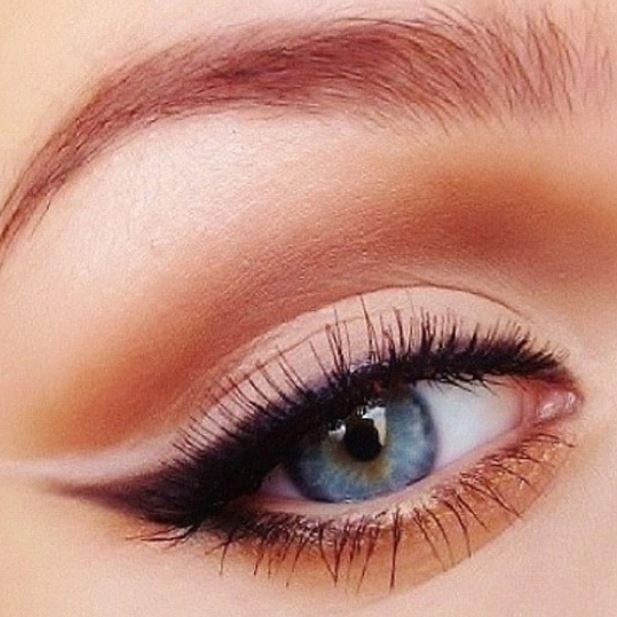Idea make up occhi chiari
