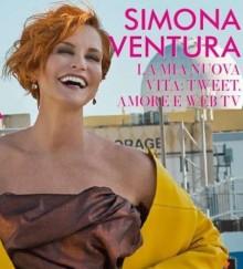 Nuovo taglio di capelli rossi Simona Ventura 2013