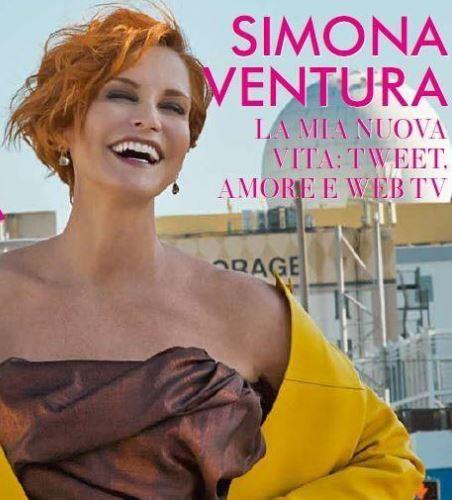 Simona ventura taglio capelli 2017
